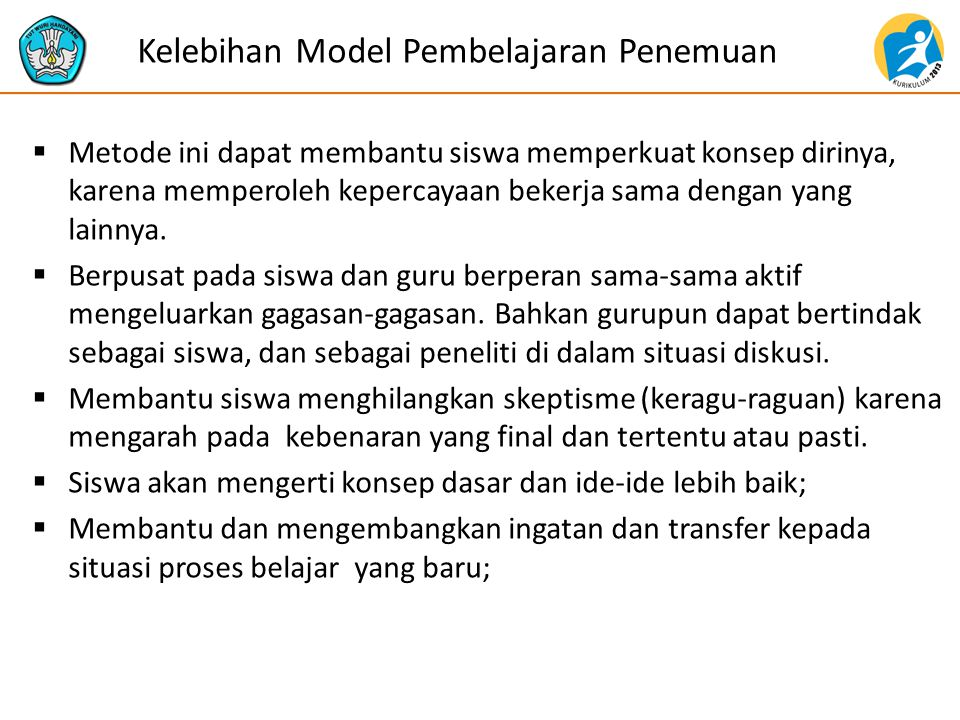 Kelebihan Model Pembelajaran Penemuan