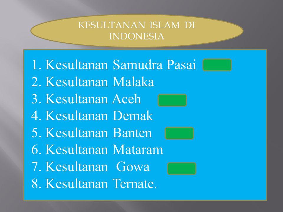 KESULTANAN ISLAM DI INDONESIA