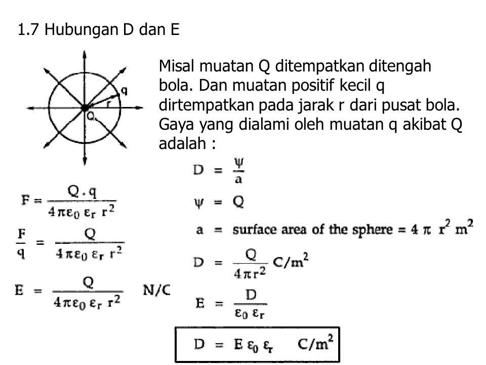 1.7 Hubungan D dan E