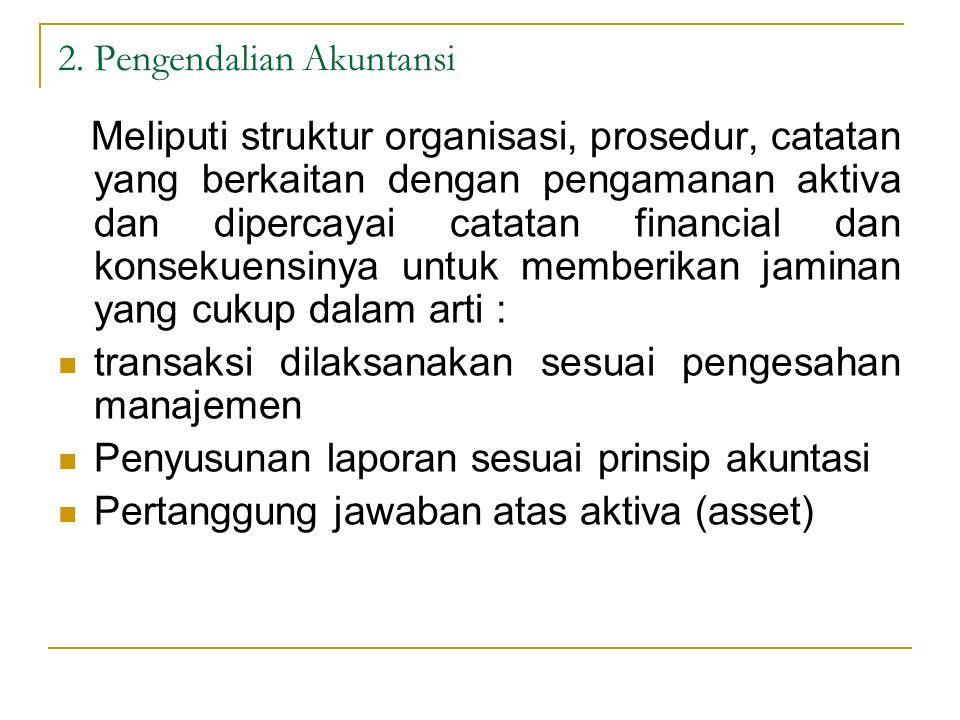 2. Pengendalian Akuntansi