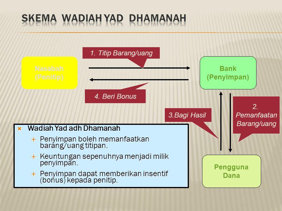 Skema Wadiah Yad Dhamanah