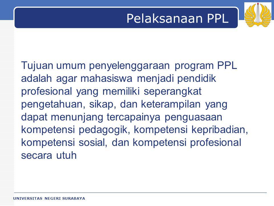 Pelaksanaan PPL