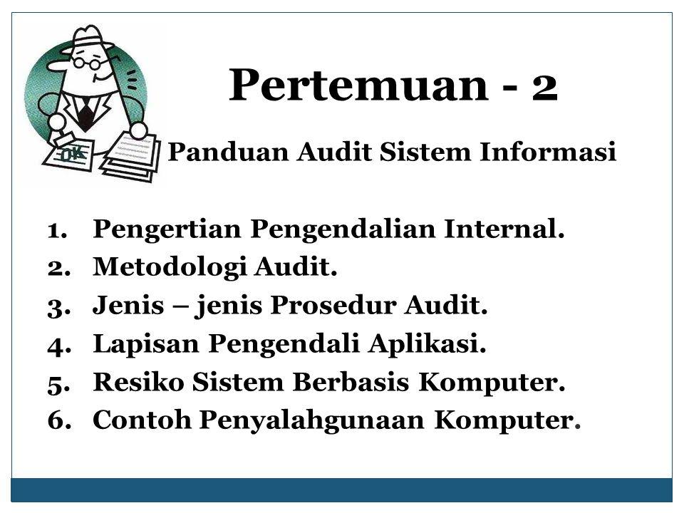 Panduan Audit Sistem Informasi