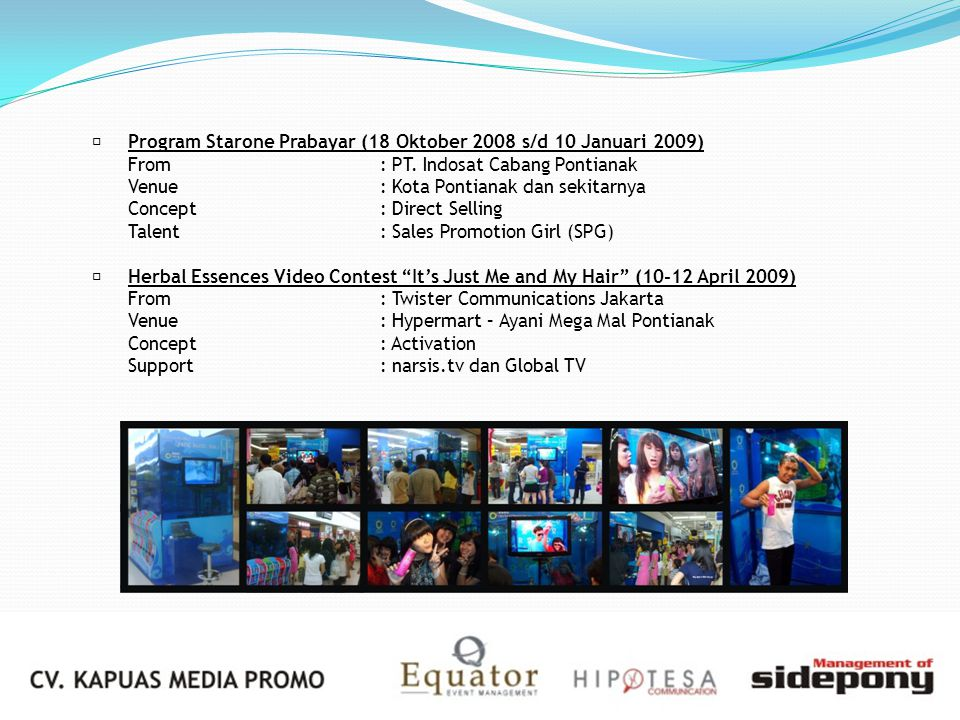  Program Starone Prabayar (18 Oktober 2008 s/d 10 Januari 2009)