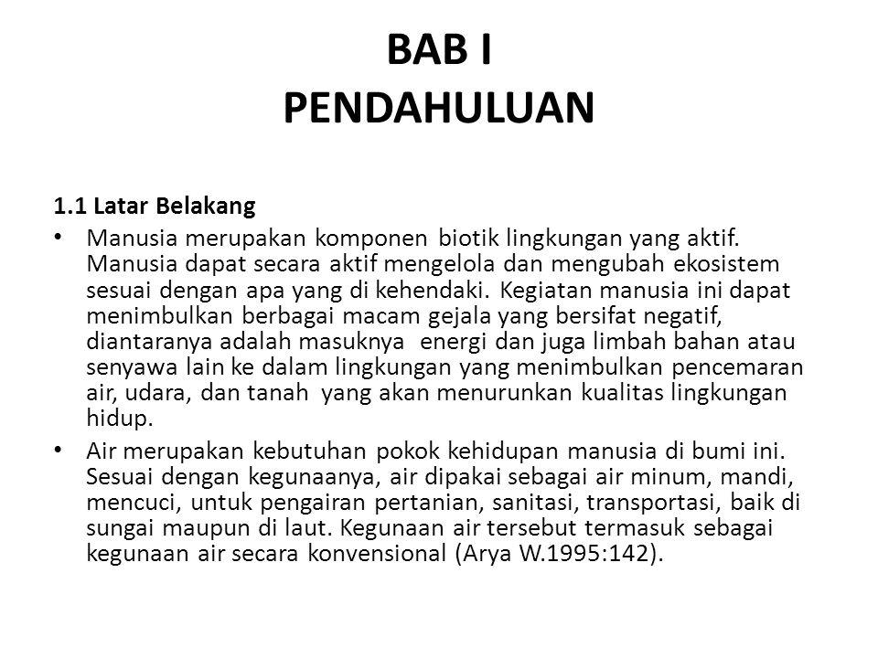 BAB I PENDAHULUAN 1.1 Latar Belakang