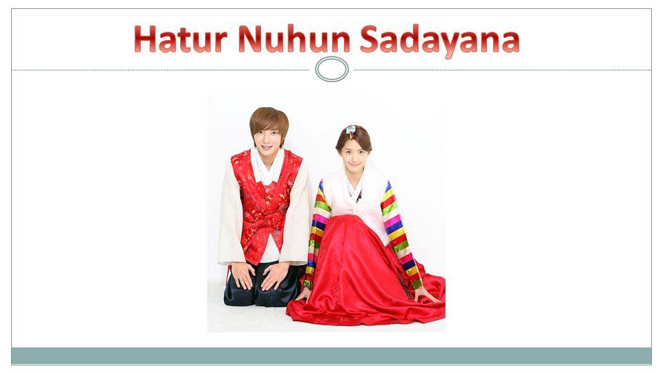 Hatur Nuhun Sadayana