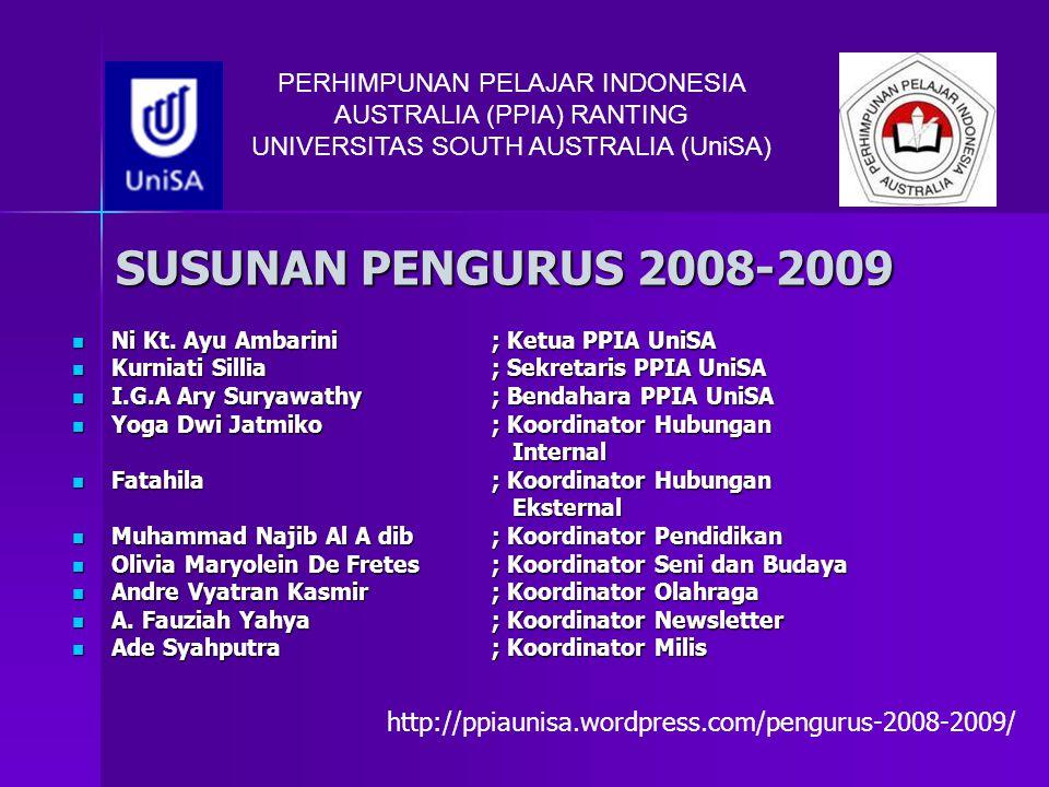 PERHIMPUNAN PELAJAR INDONESIA AUSTRALIA (PPIA) RANTING