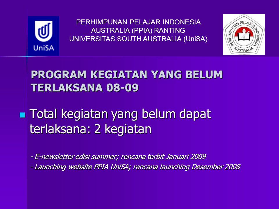 PROGRAM KEGIATAN YANG BELUM TERLAKSANA 08-09