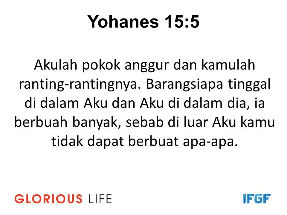 Yohanes 15:5