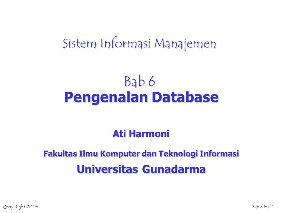 Sistem Informasi Manajemen Bab 6