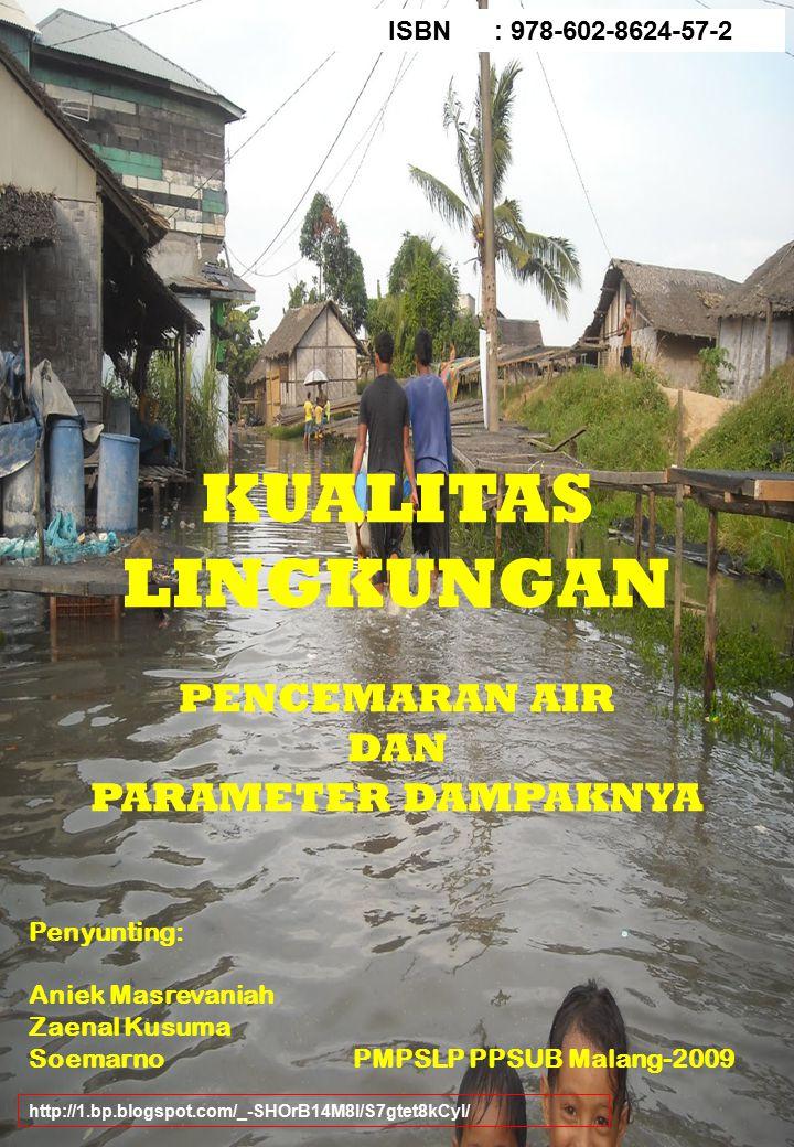 KUALITAS LINGKUNGAN PENCEMARAN AIR DAN PARAMETER DAMPAKNYA