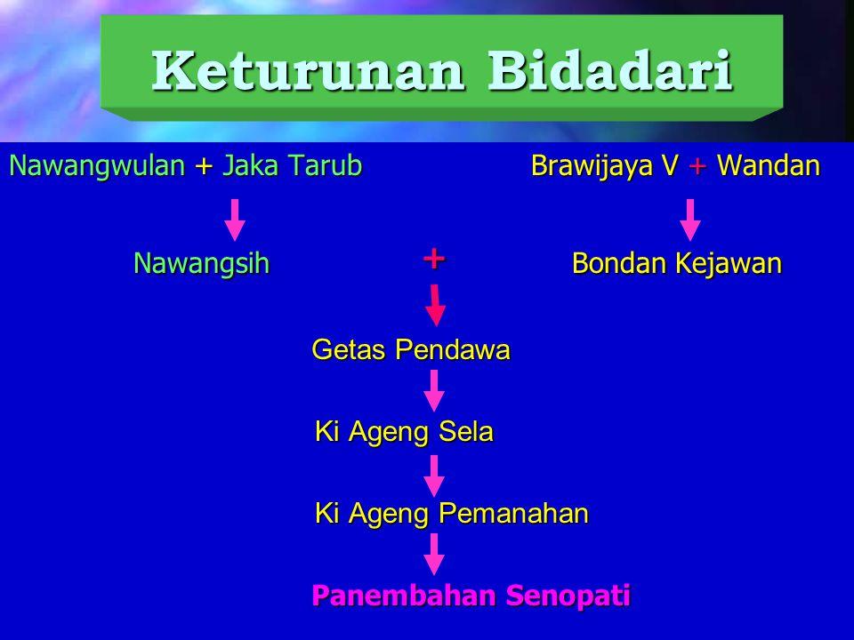 Keturunan Bidadari Nawangwulan + Jaka Tarub Brawijaya V + Wandan