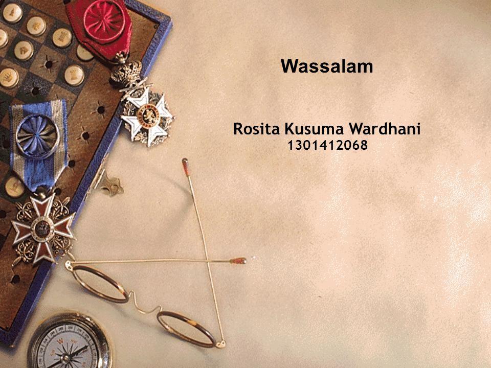 Rosita Kusuma Wardhani