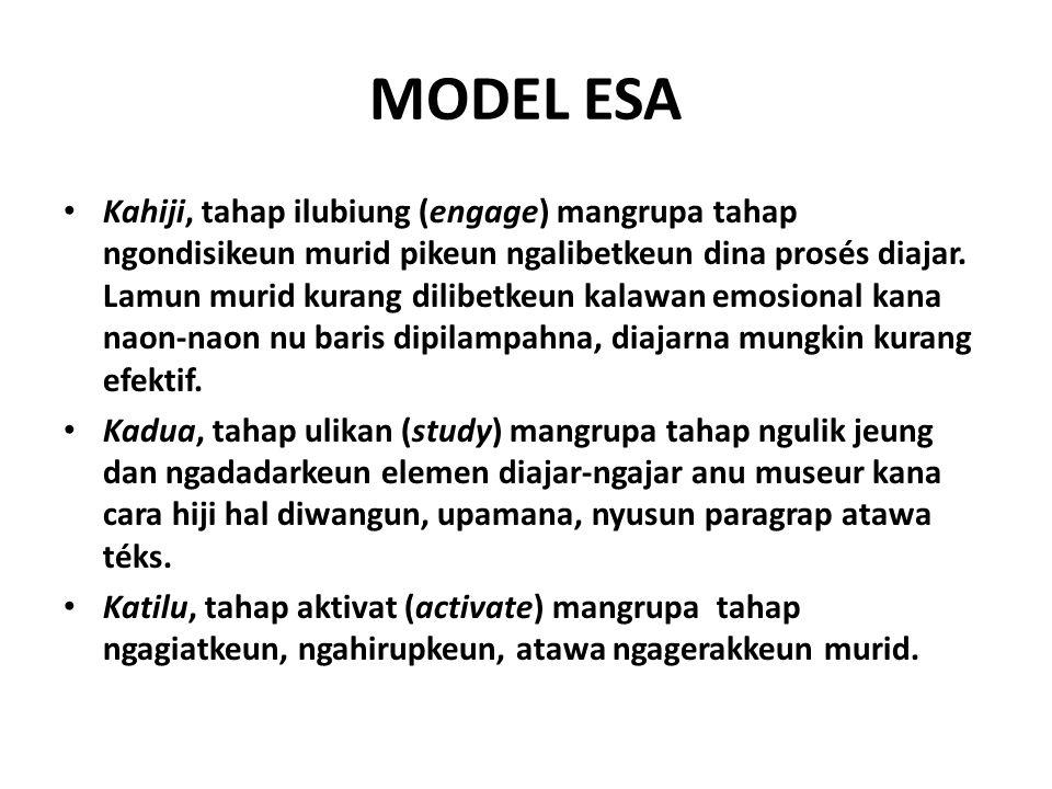 MODEL ESA