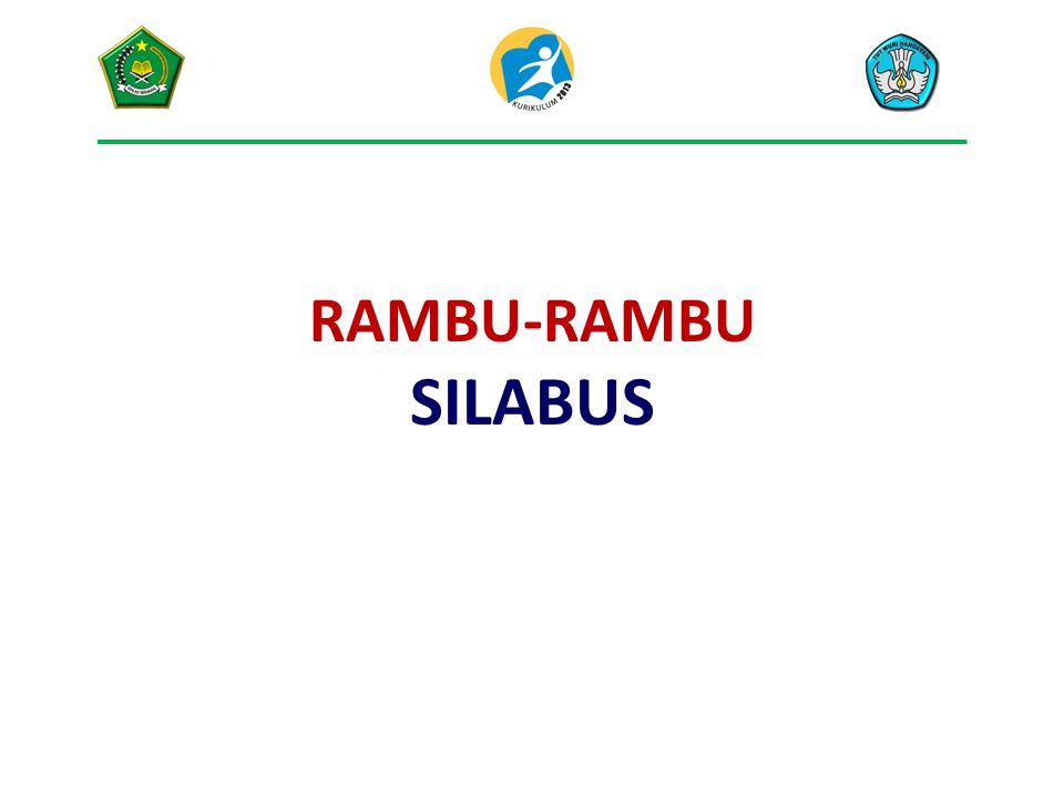RAMBU-RAMBU SILABUS