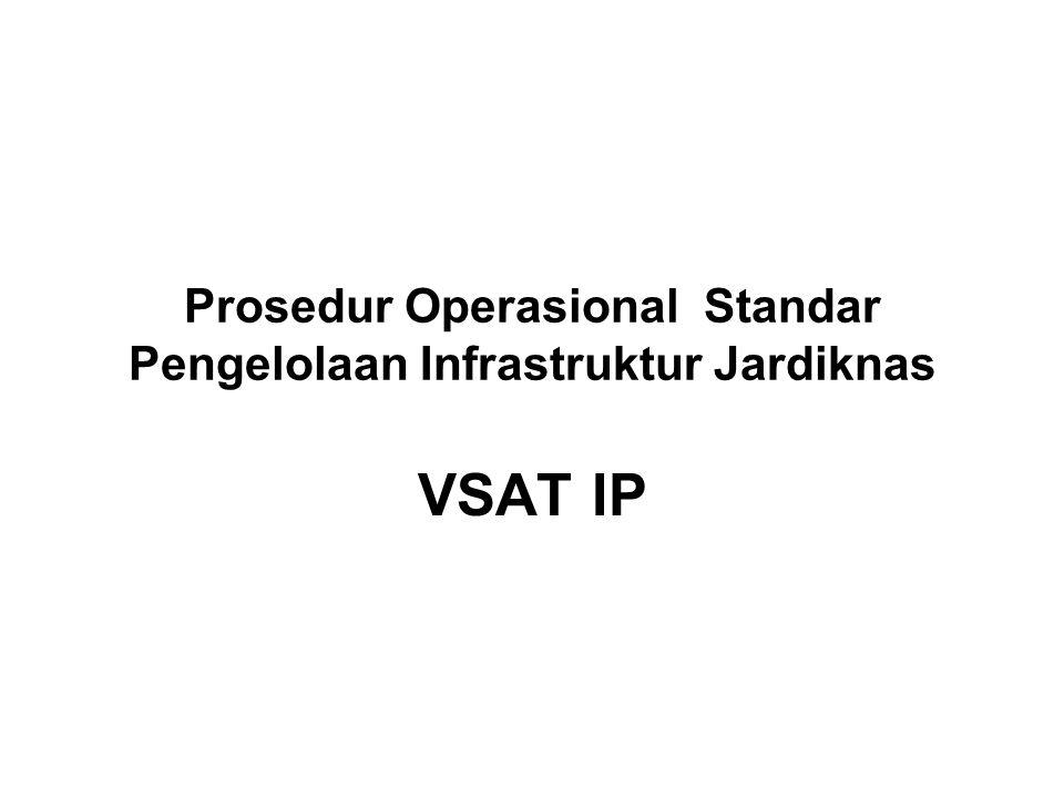 Prosedur Operasional Standar Pengelolaan Infrastruktur Jardiknas