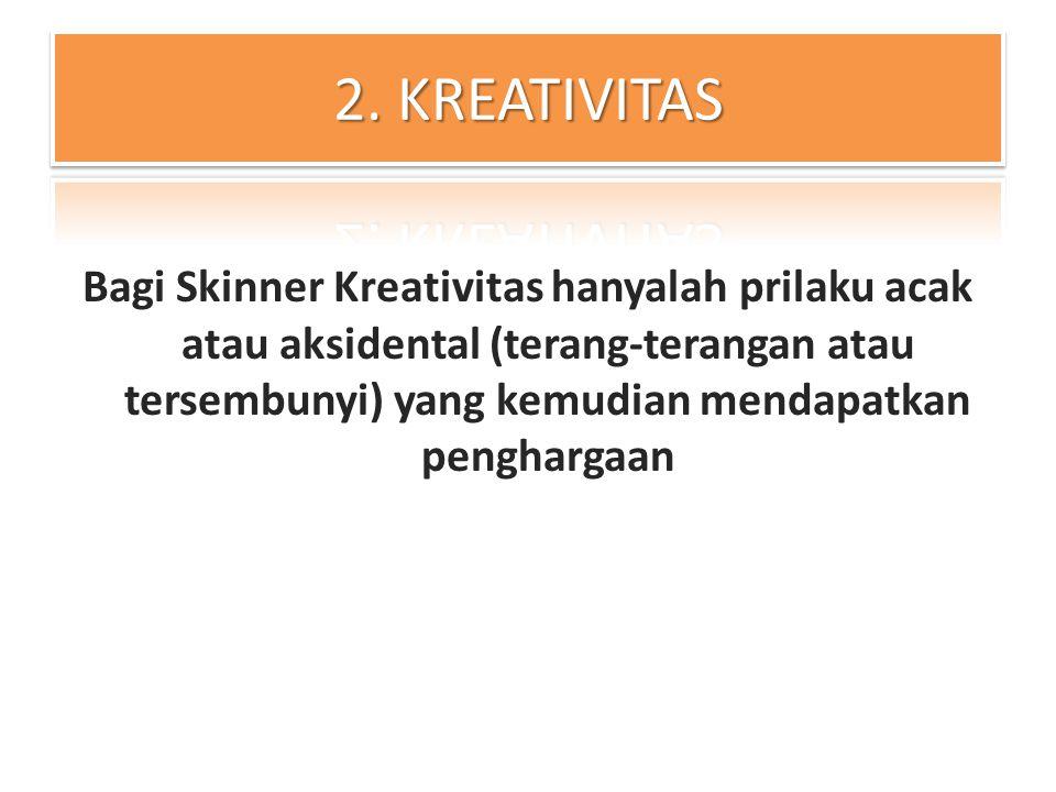 2. KREATIVITAS