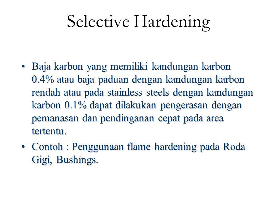 Selective Hardening