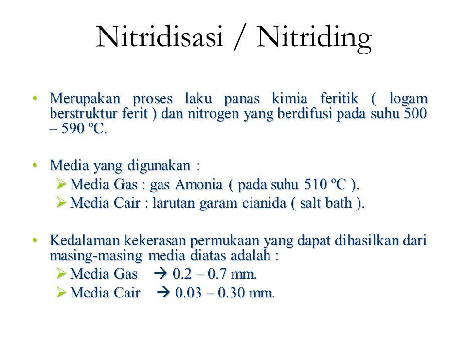 Nitridisasi / Nitriding