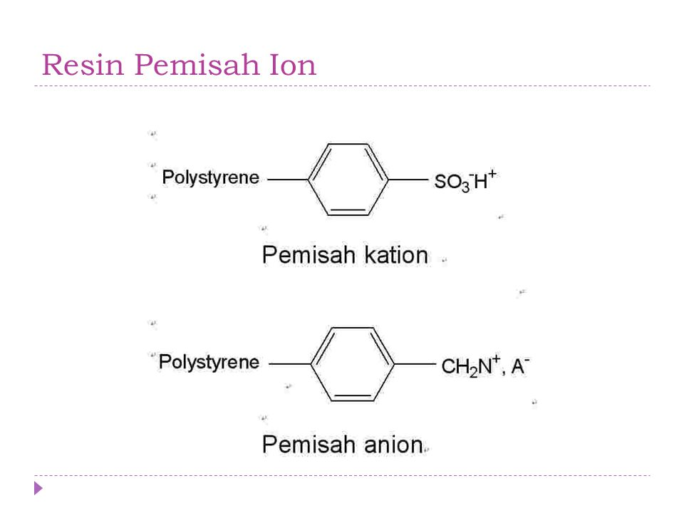Resin Pemisah Ion