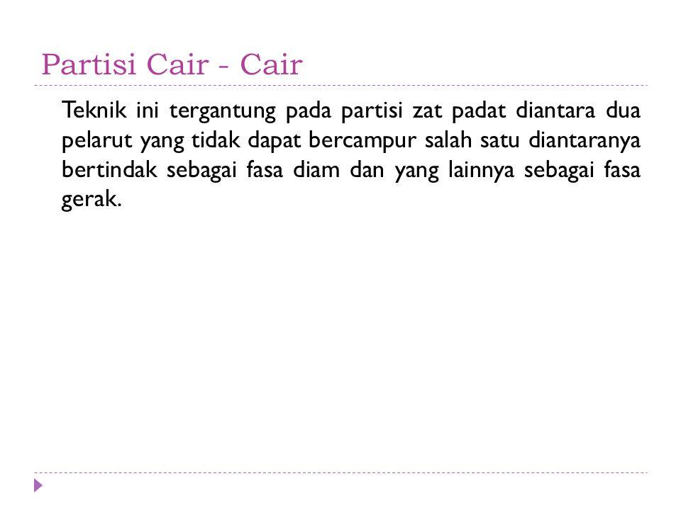 Partisi Cair - Cair
