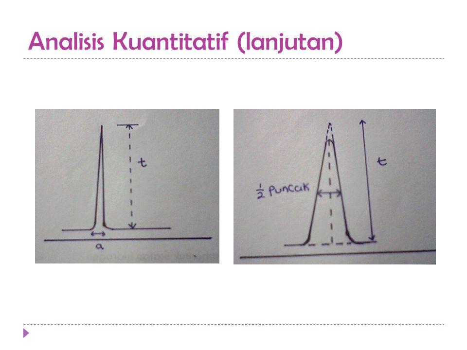 Analisis Kuantitatif (lanjutan)