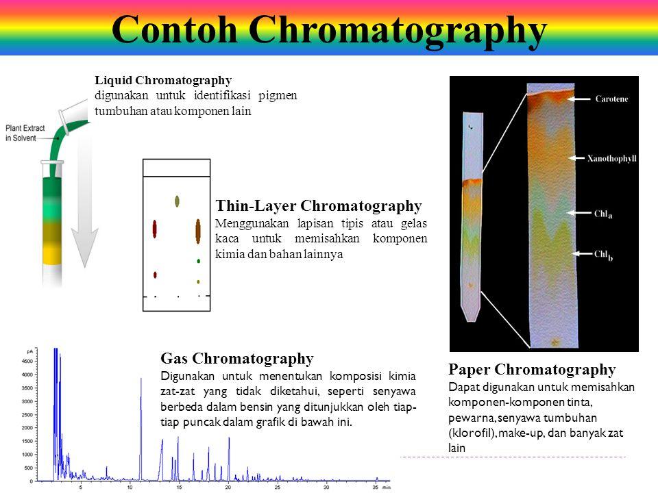 Contoh Chromatography