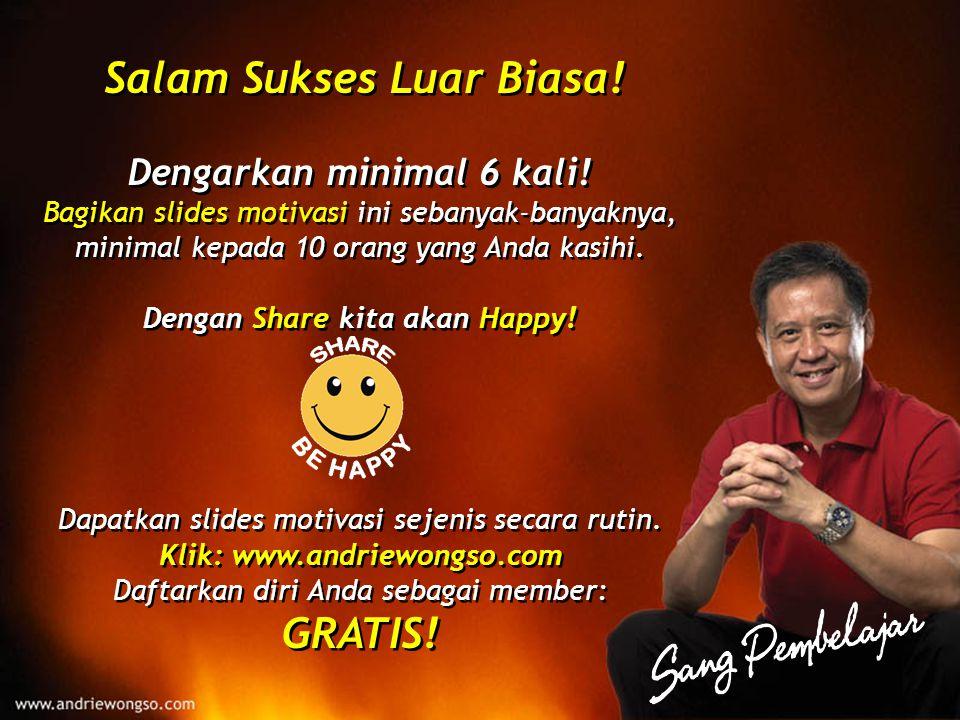 Salam Sukses Luar Biasa!