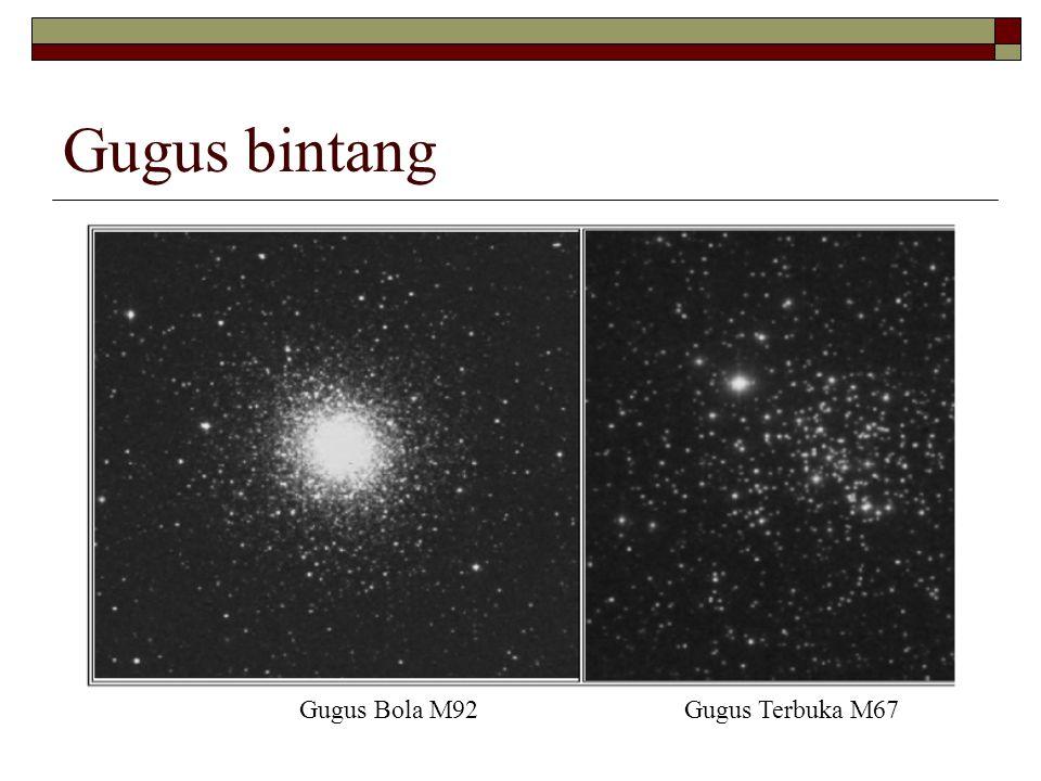 Gugus bintang Gugus Bola M92 Gugus Terbuka M67