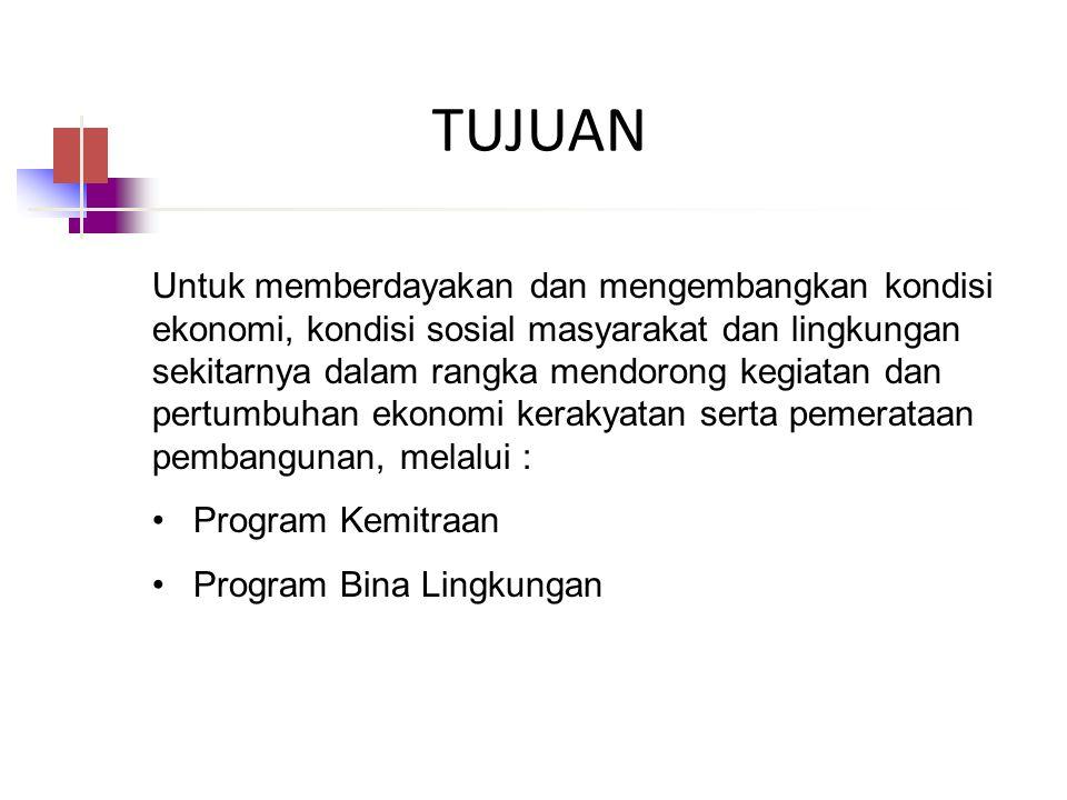 PKBL MBDC Malang TUJUAN.