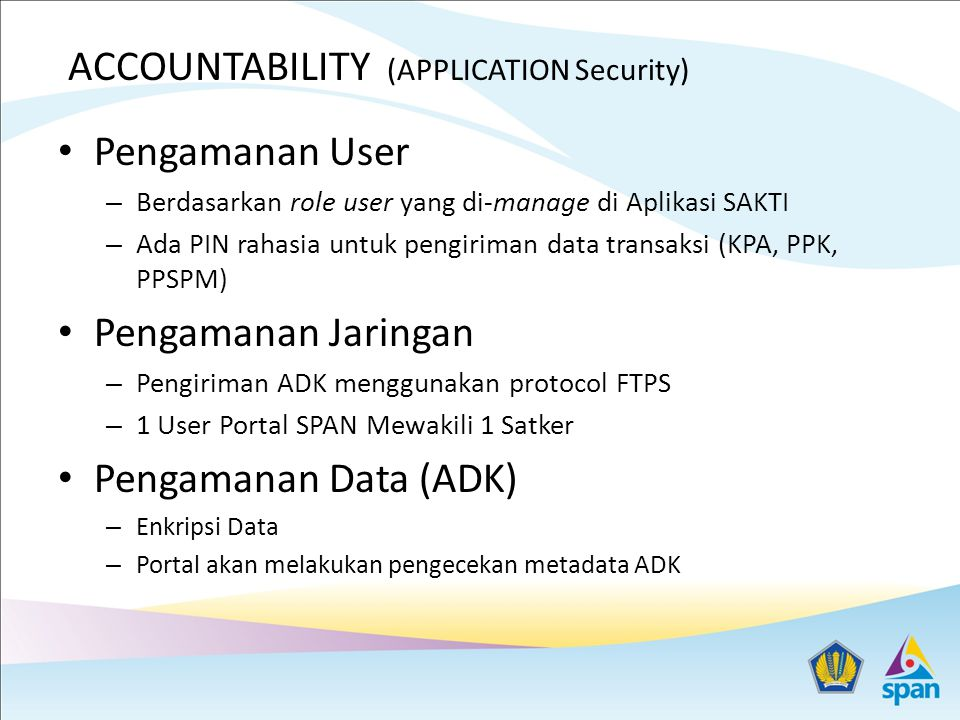 ACCOUNTABILITY (APPLICATION Security)