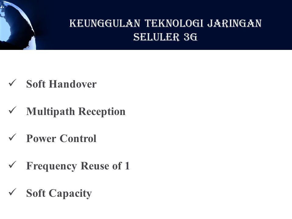 KeunggulaN Teknologi Jaringan Seluler 3G