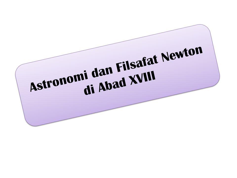 Astronomi dan Filsafat Newton