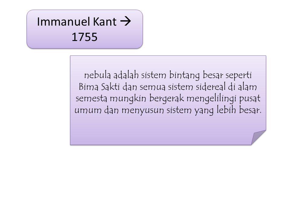 Immanuel Kant  1755