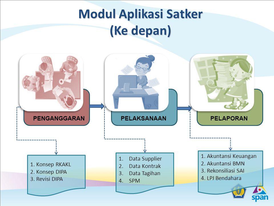 Modul Aplikasi Satker (Ke depan)