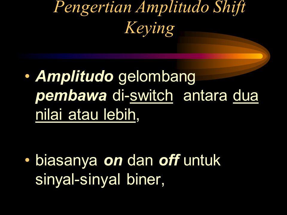 Pengertian Amplitudo Shift Keying