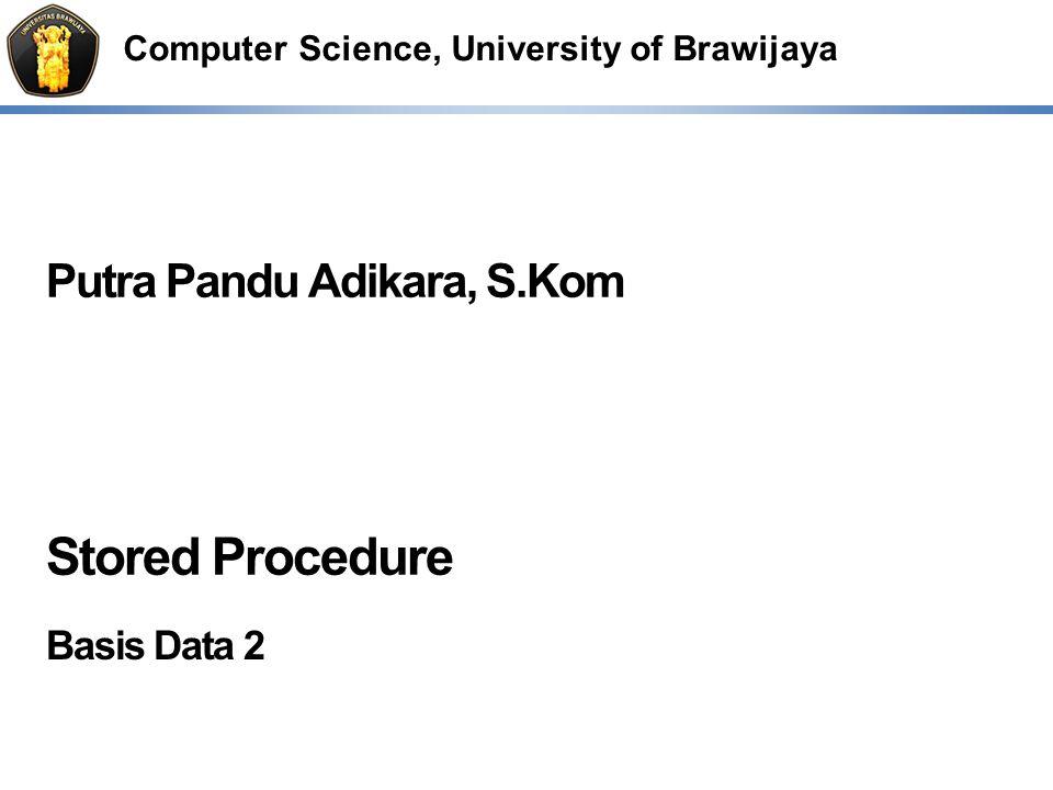 Stored Procedure Basis Data 2
