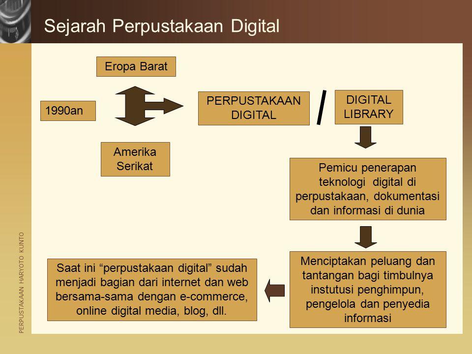 Sejarah Perpustakaan Digital
