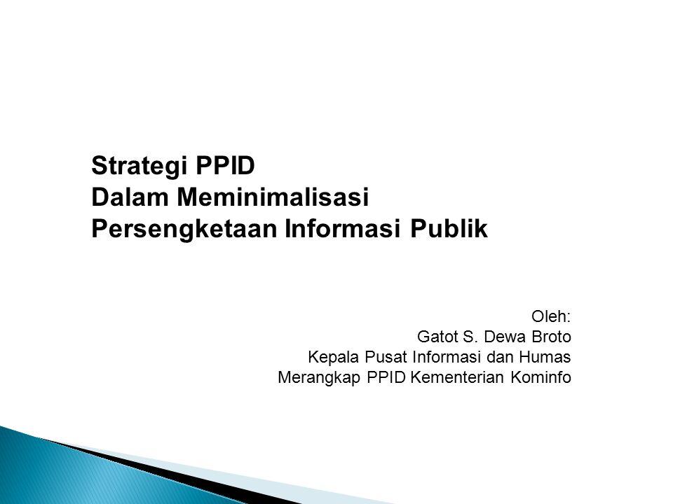 Persengketaan Informasi Publik