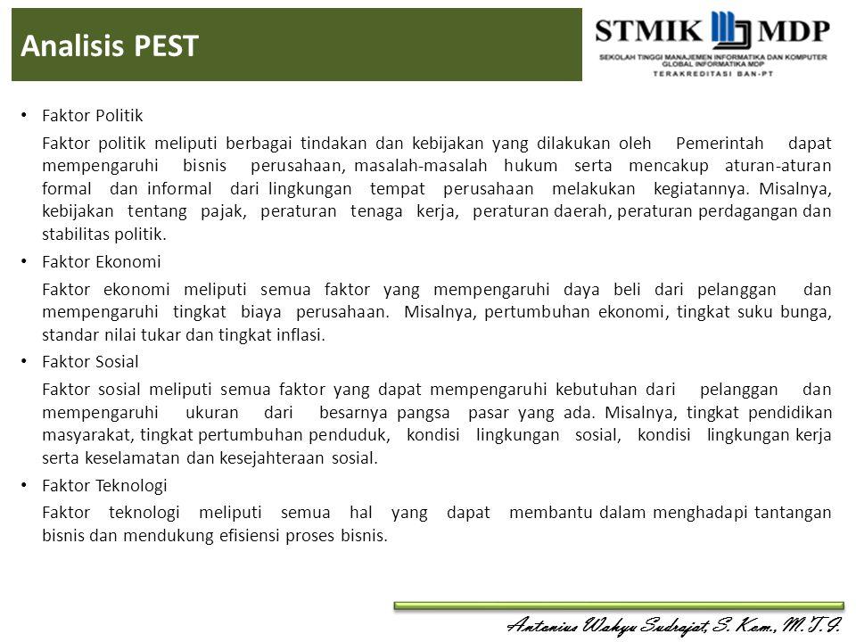 Analisis PEST Faktor Politik