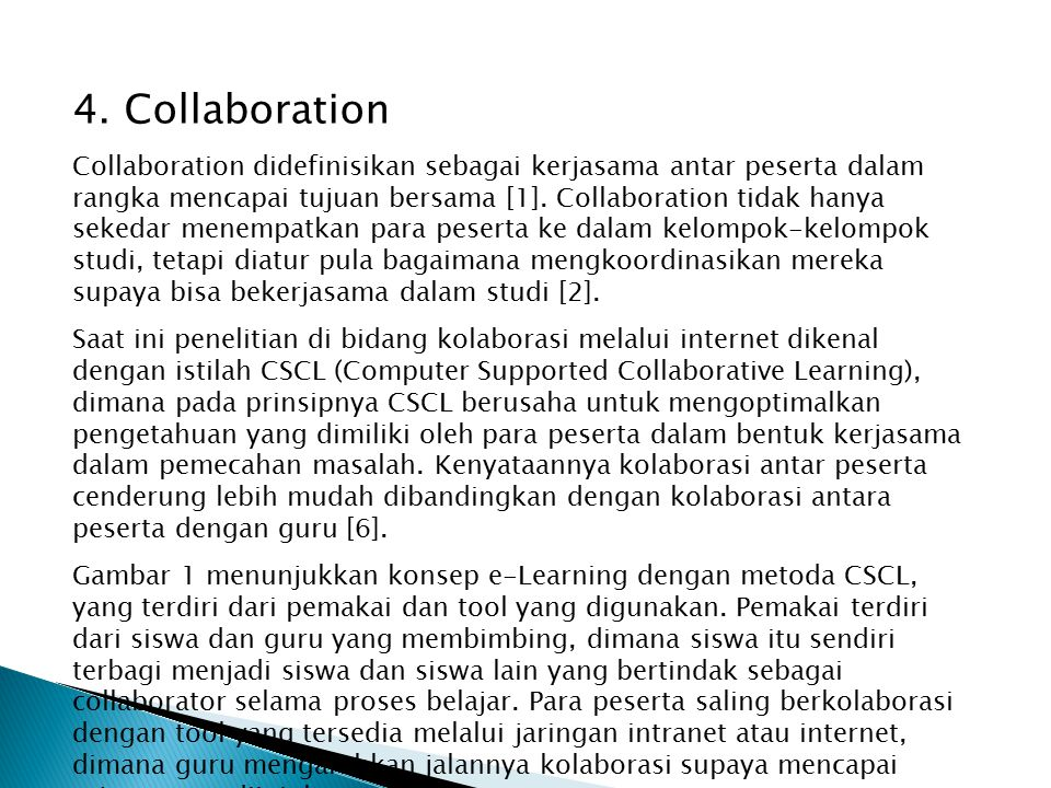 4. Collaboration