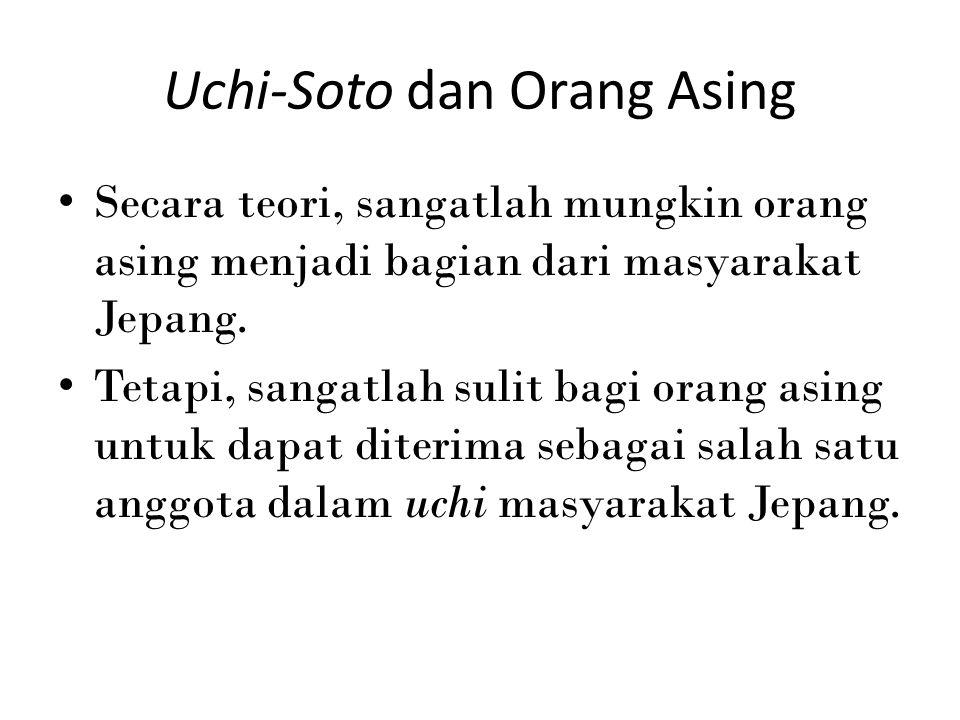 Uchi-Soto dan Orang Asing