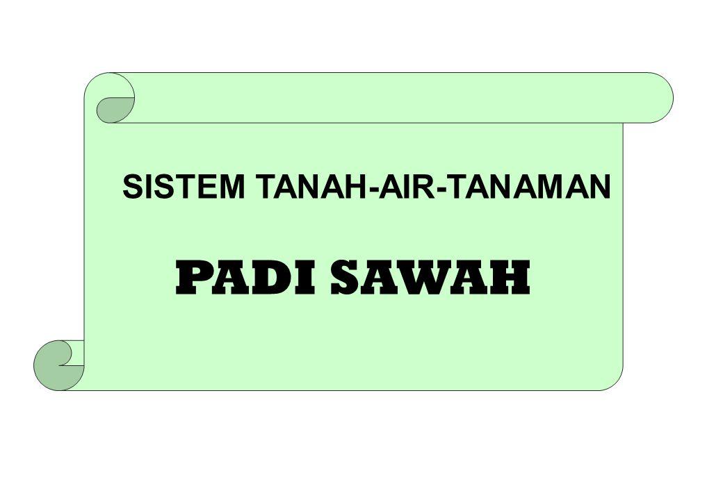 SISTEM TANAH-AIR-TANAMAN