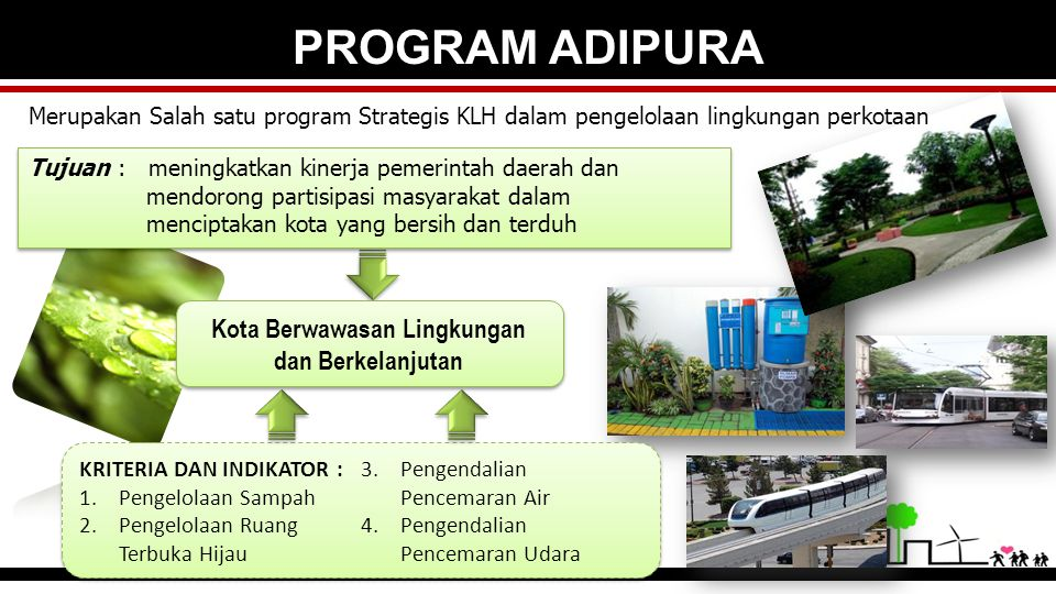 Kota Berwawasan Lingkungan dan Berkelanjutan
