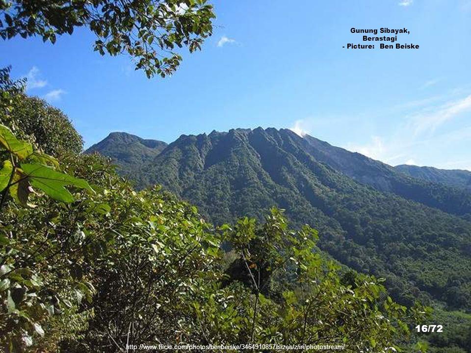 Gunung Sibayak, Berastagi