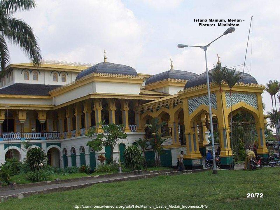 Istana Mainum, Medan - Picture: Mimihitam