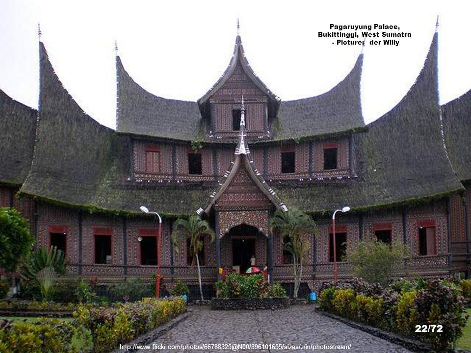 Pagaruyung Palace, Bukittinggi, West Sumatra