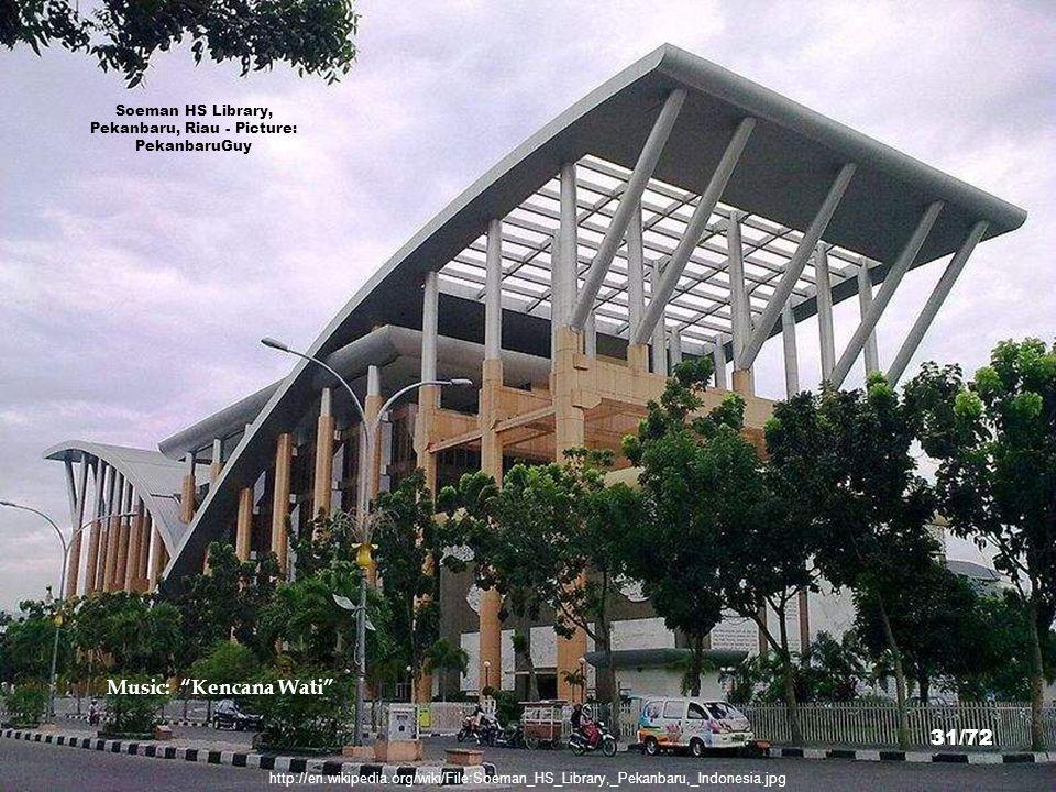 Soeman HS Library, Pekanbaru, Riau - Picture: PekanbaruGuy