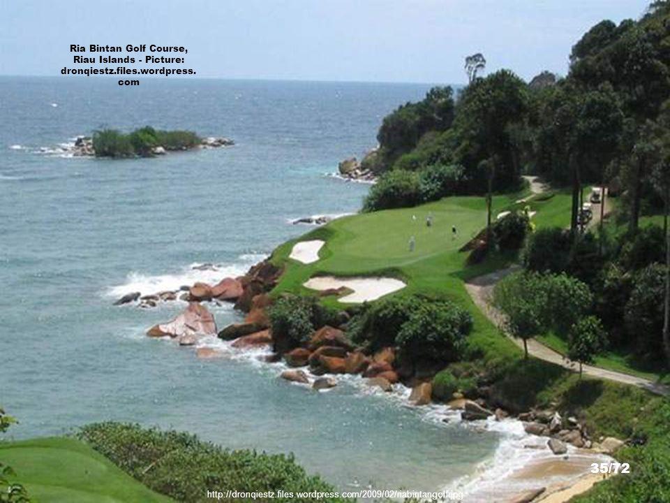 Ria Bintan Golf Course, Riau Islands - Picture: dronqiestz. files