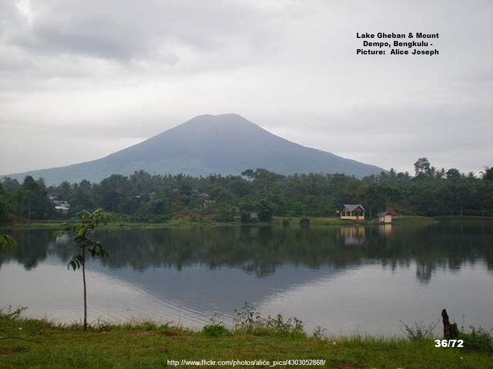 Lake Gheban & Mount Dempo, Bengkulu - Picture: Alice Joseph